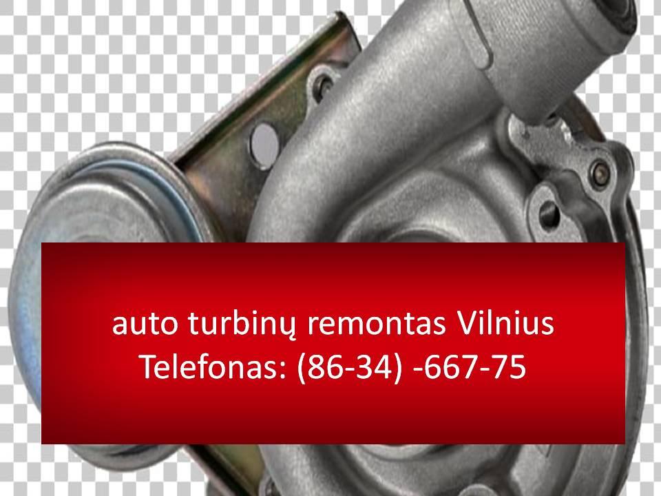 auto turbinu remontas Vilnius 863466775