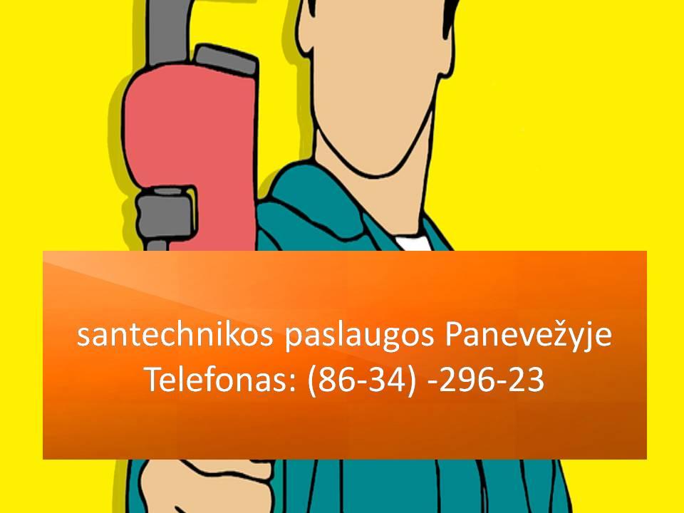 santechnikos paslaugos Panevezyje  863429623