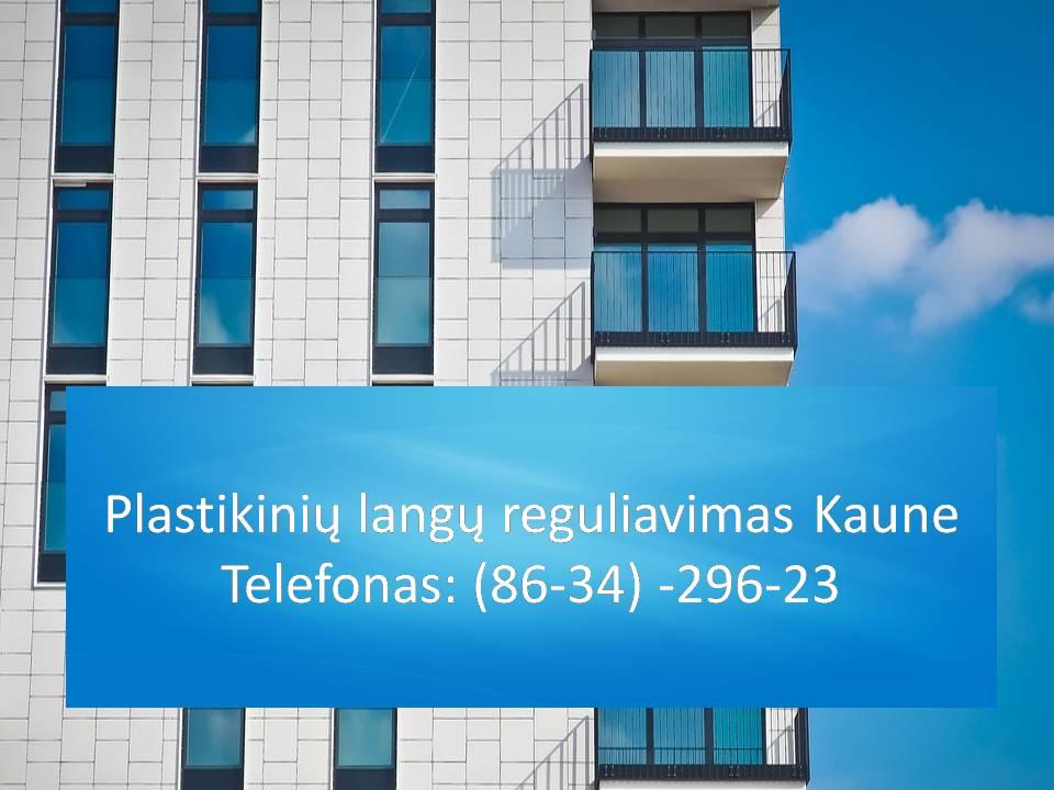 Plastikiniu langu reguliavimas Kaune  863429623