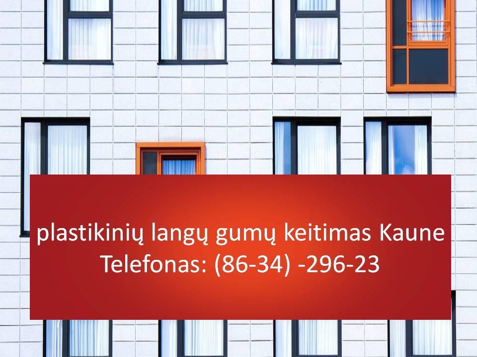 plastikiniu langu gumu keitimas Kaune  863429623