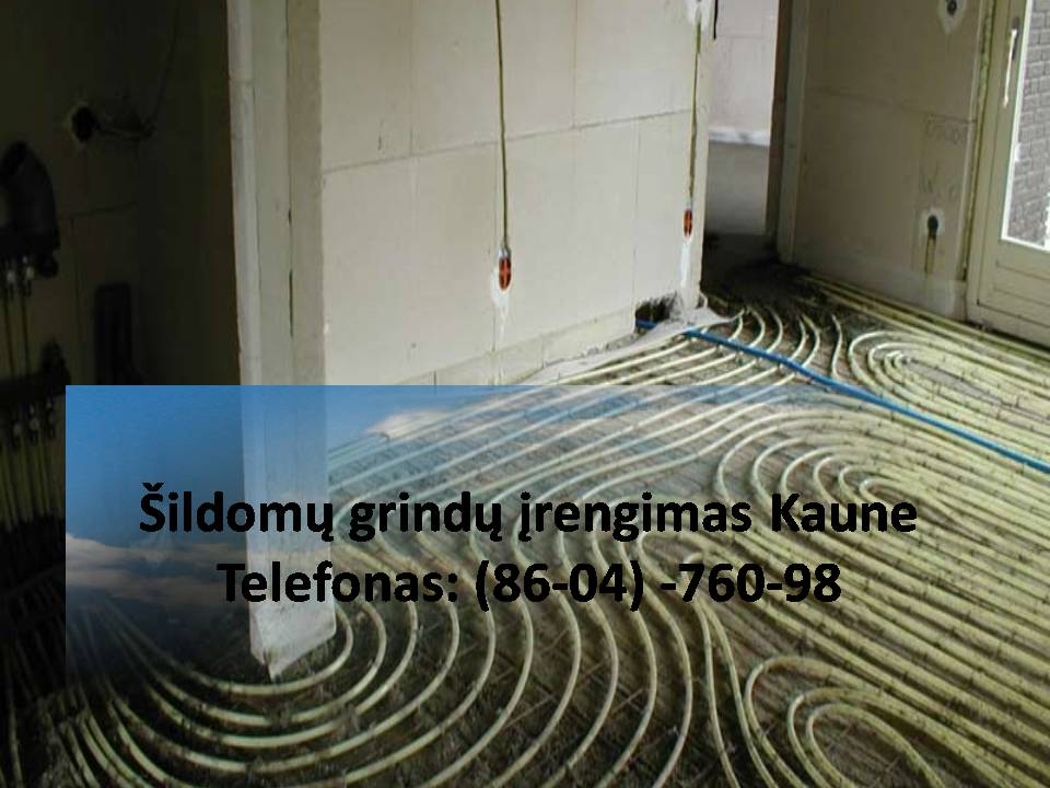 Vandeniu šildomos grindys. Šildomų grindų ir kolektoriaus pajungimas Grindinis šildymas (šildomos grindys). Šildomų grindų įrengimas. Patirtis ir kokybė. Sildomu grindu irengimas Kaune greitas atvykimas Sildomu grindu irengimas Kaune Kaina Sildomu grindu irengimas Kaune kainos  #SildomugrinduirengimasKaune