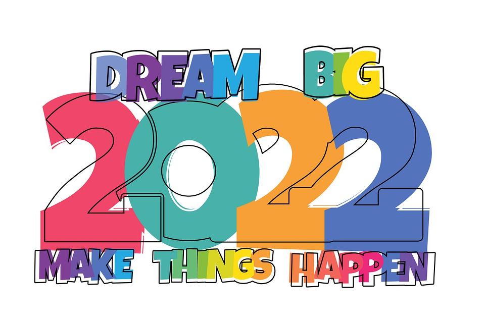sveikinimai su naujais 2022 metais 2