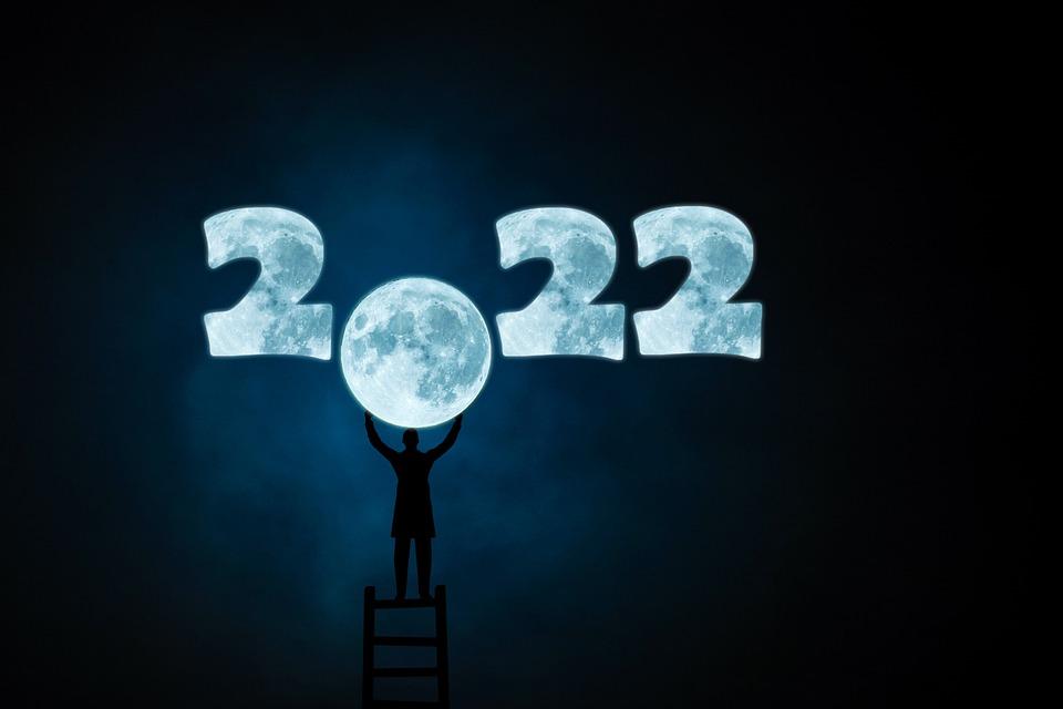 sveikinimai su naujais 2022 metais