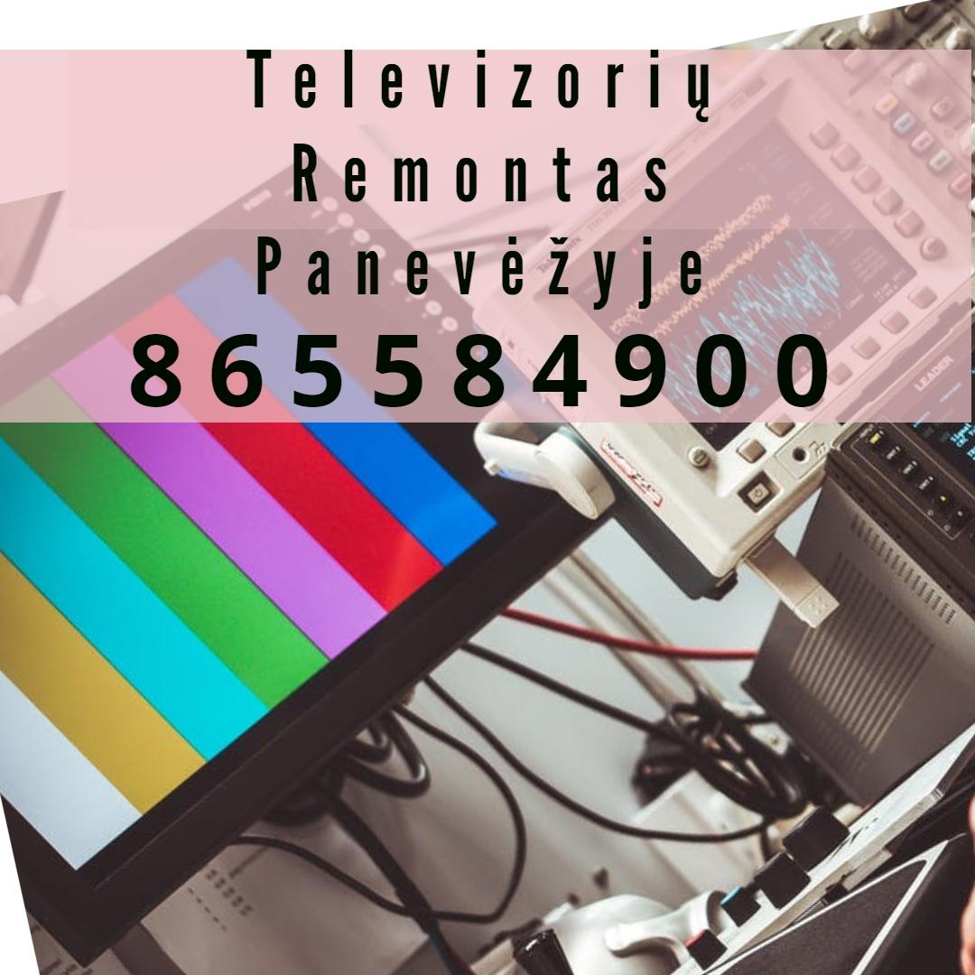 Televizorių Remontas Panevėžyje 2